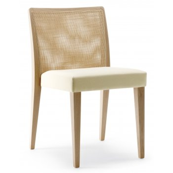 Pedrali Collection Glam Light Wood Side Chair 433