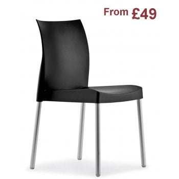 Pedrali Collection Ice 800 Plastic Side Chair PED