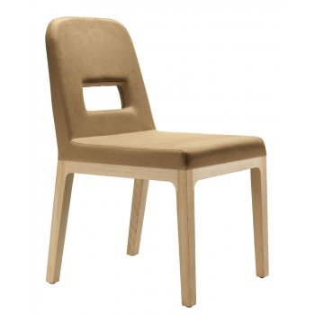 Pedrali Collection Polo Light Wood Side Chair 758