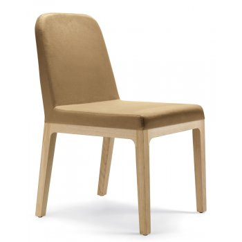 Pedrali Collection Polo Light Wood Side Chair 759