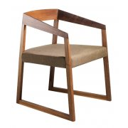 Sign Dark Wood Armchair 455