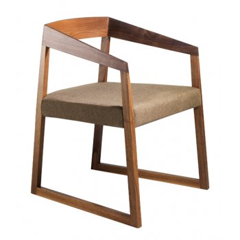 Pedrali Collection Sign Dark Wood Armchair 455 PED