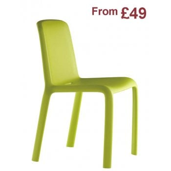 Pedrali Collection Snow 300 Injection Mould Side Chair PED