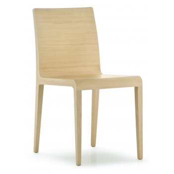 Pedrali Collection Young Light Wood Side Chair 420