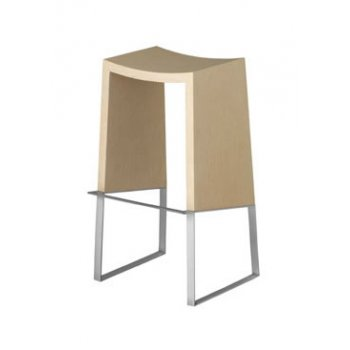 Philly Light Wood Barstool