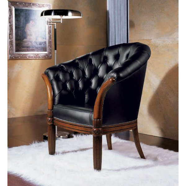 prestige silver upholstered classic chair - from ultimate contract uk