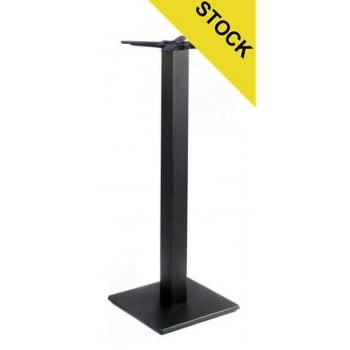 Profile Flat Square Poseur Table Base