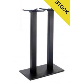 Profile Flat Twin Poseur Table Base