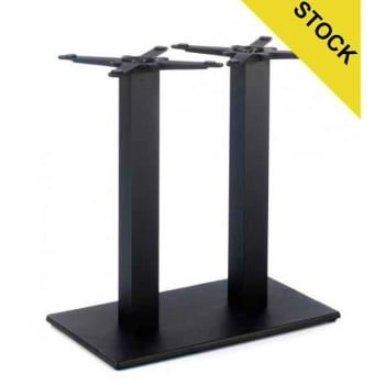 Profile Flat Twin Table Base