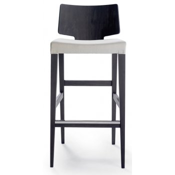 Puzzle Square Back Barstool