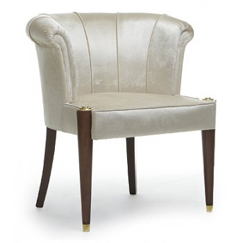 Reddy Leather Upholstered Chair