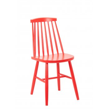 Rugano Side Chair Red GF