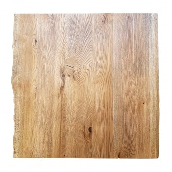 Rustic Character Oak Table Top 1
