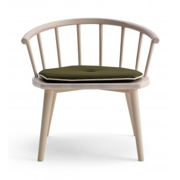 Scana Light Wood Arm Chair