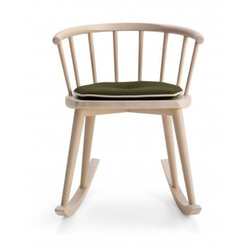 Scana Light Wood Rocking Chair