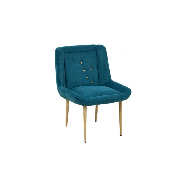 Scana Navy Blue Lounge Chair from Ultimate Contract UK