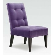 Scarlet Purple Upholstered Chair