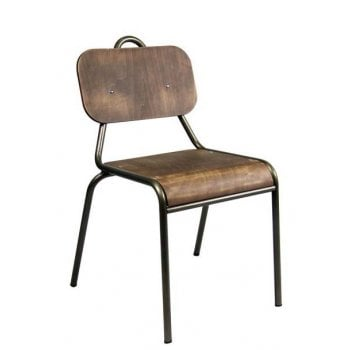 Scolar Side Chair ALU
