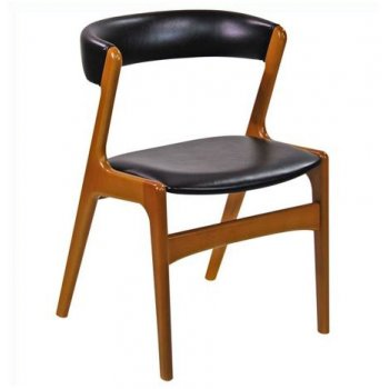 Shoreditch Dark Wood Side Chair