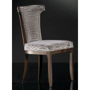 Silver Upholstered Classic Chair 9130S