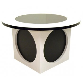 Small Contemporary Speaker Coffee Table