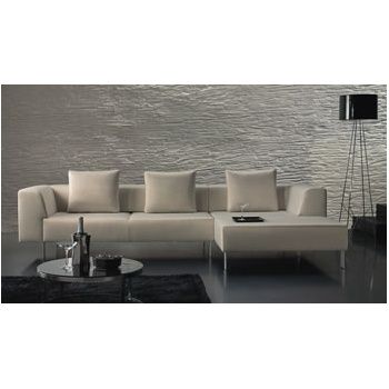 Spot Light Upholstered L-Sofa