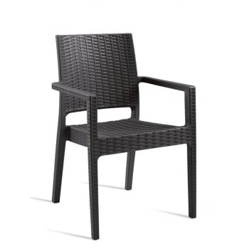 Stackable outdoors A7 Armchair ZT