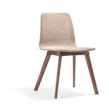 Tecla Dark Wood Side Chair NL