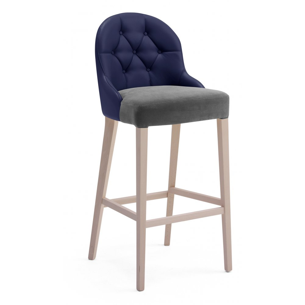 torma dark wood bar stool from ultimate contract uk