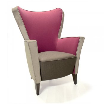 Tulip High Back Lounge Chair IND