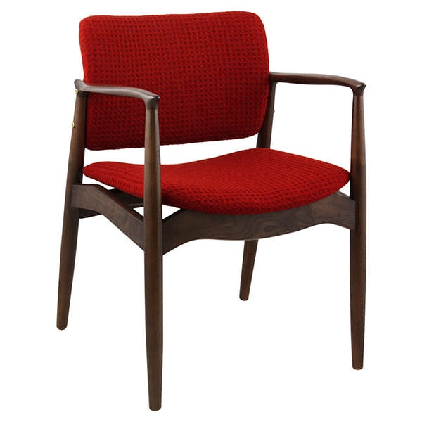 Viborg Dark Wood Armchair From Ultimate Contract Uk
