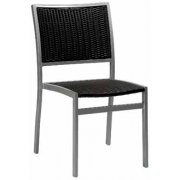 Villa Metal Frame Outdoor Chair (Dark)