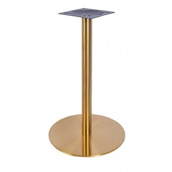Vintage Brass effect Dining table base