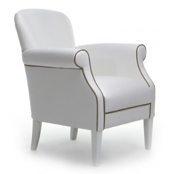 Vita Leather Upholstered Chair