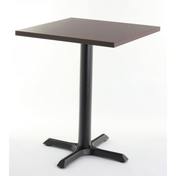 Wenge Top Square Dining Table