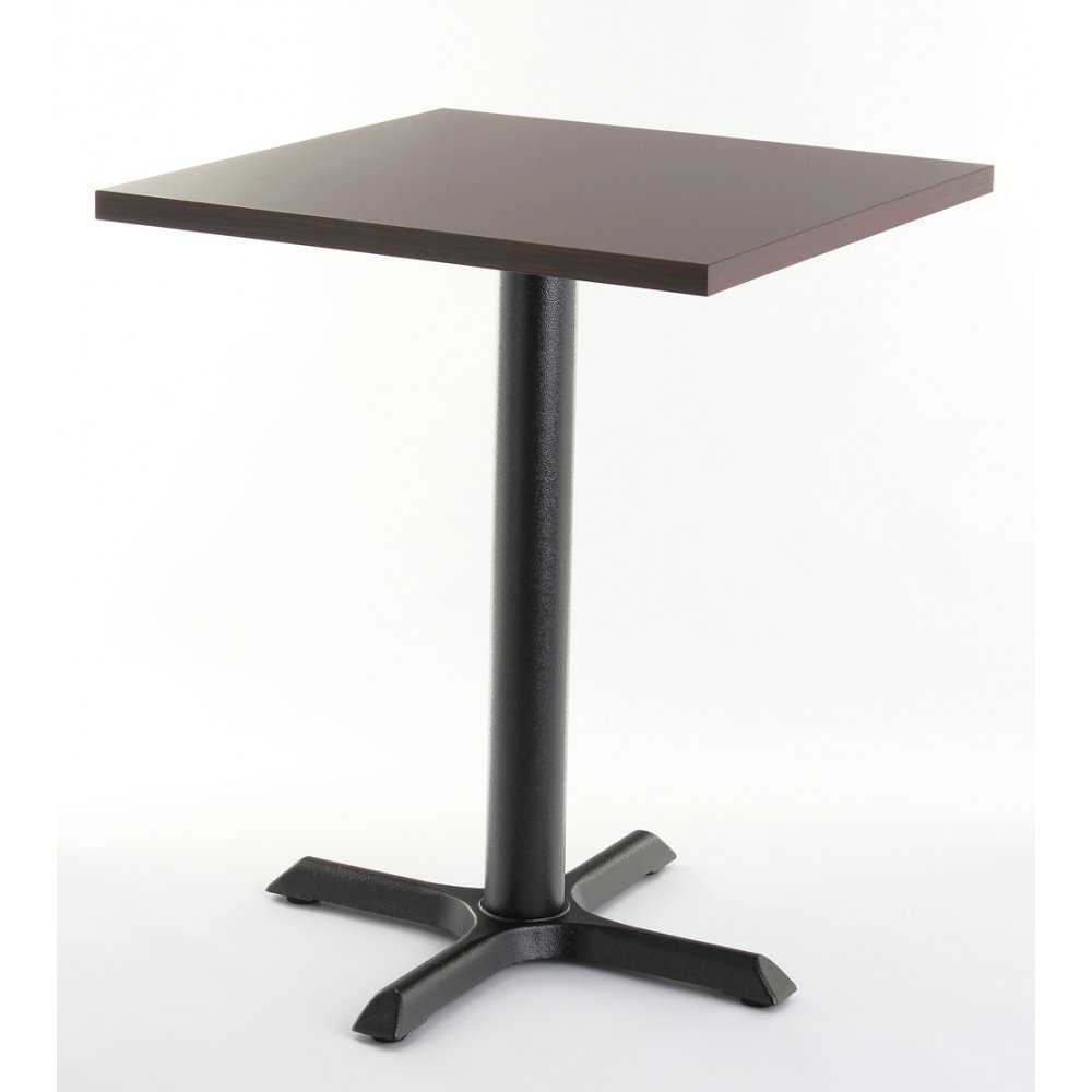 wenge top square dining table from ultimate contract uk. Black Bedroom Furniture Sets. Home Design Ideas