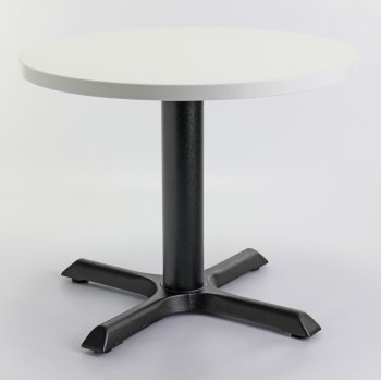 White Top Round Coffee Table