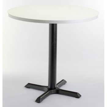 White Top Round Dining Table
