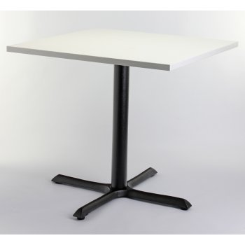 White Top Square Dining Table