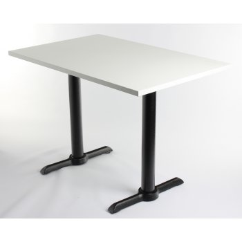 White Top Twin Table