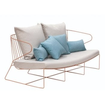 Wire Frame 2 Seater Sofa ISI