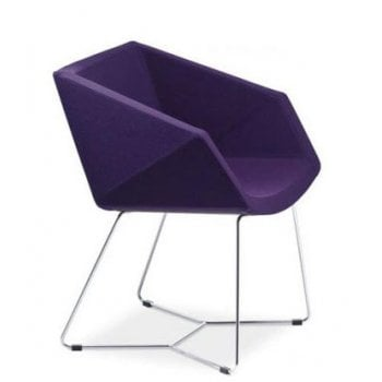 Xonia Purple Armchair